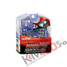 SET 2 BECURI AUTO H1 MTEC SUPER WHITE - XENON EFFECT
