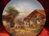BRADEX EDITIE LIMITATA - FARFURIE DECORATIVA PORTELAN SEMNATA CHRISTIAN LUCKEL