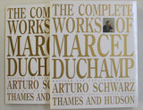 THE COMPLETE WORKS OF MARCEL DUCHAMP , VOLUMES I - II ( TEXT , THE PLATES , CRITICAL CATALOGUE RAISONNE AND THE SOURCES ) , REVISED AND EXPANDED EDITI