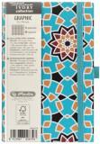 Cumpara ieftin Bloc Notes Ivory Graphic, 192 pagini, patratele, motiv Mosaic