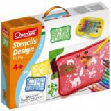 Set Creativ Pentru Copii Sabloane Forest Quercetti