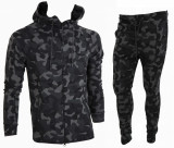 Trening barbati Camuflaj US ARMY - Bluza si Pantaloni Conici - Calitate Premium, S, XS, Din imagine