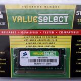 NOTEBOOK MEMORY CORSAIR DDR1 512MB PC2700