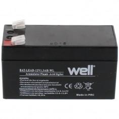 Acumulator plumb acid Well, 12V, 1.3Ah