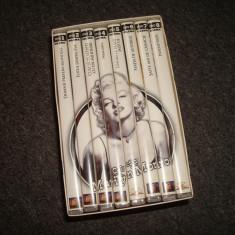 MARILYN MONROE Colectie de filme DVD 8 bucati/pret pe tot lotul/stare perfecta