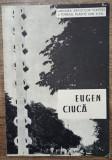 Brosura expozitie de sculptura Eugen Ciuca 1965