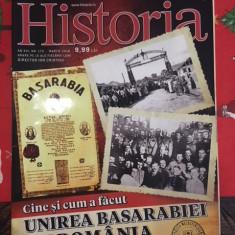 revista Historia Cine si cum a facut unirea Basarabiei cu Romania, martie 2018
