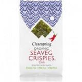 Alge Nori Snack Chilli Bio 4 grame Clearspring Cod: 5021554002581