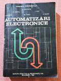 Automatizari electronice. Bucuresti, 1993 - I. Dumitrache, S Dumitriu, I. Mihu, Didactica si Pedagogica