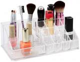 Suport Organizator pentru Cosmetice si Bijuteri, cu 16 Compartimente, Transparent