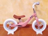 Bicicleta fara pedale cu cadru de magneziu Skillmax C UltraLight 2 kg, pink