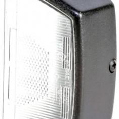 Carcasa lampa numar inmatriculare CASE IH 1000 700 800 MAXXUM DEUTZ FAHR AGROSTAR AGROSTAR DX FENDT 300 500 JOHN DEERE 6000 8000 MAN EL F 2000 F 9 F 9