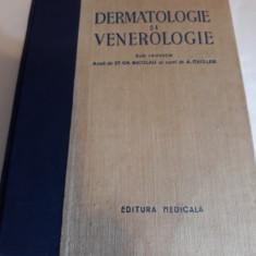 DERMATOLOGIE SI VENEROLGIE/ED.MEDICALĂ/1955