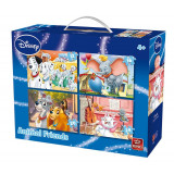 Puzzle 4in1 Animal Friends