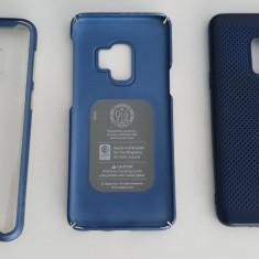 Samsung Galaxy S9, Dual SIM, 64GB, 4G, Blue + accesorii, garantie inca 10 luni