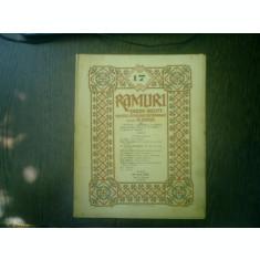 Ramuri - Drum drept revista literara saptamanala anul XVI nr. 17 23 april 1922 - N. Iorga