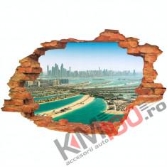 "Sticker ""Wall Crack"" Dubai 9 - 120 x 80 cm"