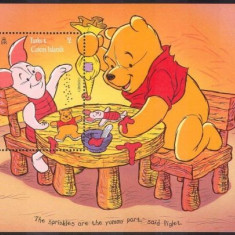 Turks&Caicos 1996 - Disney, Pooh, Craciun, colita neuzata