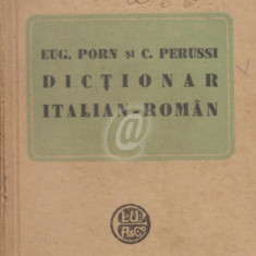 Dictionar italian-roman (Ed. Alcalay)
