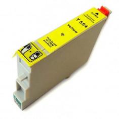 Cartus cerneala compatibil Epson T0554 - Yellow