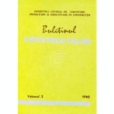 Buletinul constructiilor, vol. 2 (1990)