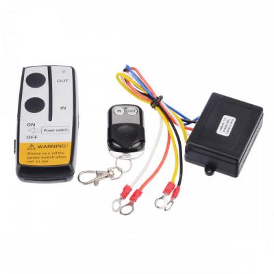 Kit telecomanda wireless pentru troliu ATV AL-290519-8 foto