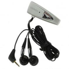 Handsfree cu fir Nokia HDD-1 Dual, mini jack 2,5 mm, negru pentru Nokia 1600 2600 3310 6030 6060 8310