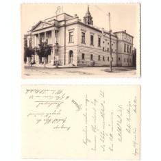 Lugoj 1937 - Teatrul comunal, ilustrata circulata