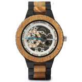 Ceas din lemn Bobo Bird mecanic R05-1 Wooden Lux