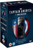 Filme Marvel Captain America DVD BoxSet Complete Collection