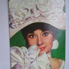 Carte postala actori - Aurrey Hepburn