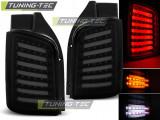 Stopuri LED compatibile cu VW T5 04.03-09 / 10-15 Fumuriu Negru LED TRANSPORTER