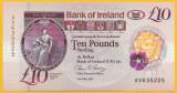 IRLANDA DE NORD █ bancnota █ 10 Pounds █ 2017 2019 █ BANK OF IRELAND POLIMER UNC