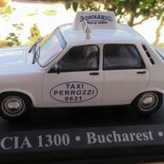 Macheta Dacia 1300 Taxi Bucuresti 1/43 IXO, 1:43