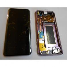 Display lcd cu touchscreen cu rama mov samsung g960 galaxy s9 original