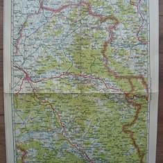 M. D. MOLDOVEANU- HARTA ROMANIEI - No.13 - ORADEA - anii '30