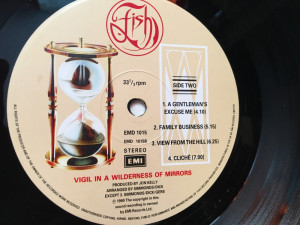 FISH ( MARILLION ) - Vigil in a Wilderness of Mirrors (1990,EMI, UK) vinil vinyl