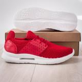 Pantofi sport barbati rosii Fulton