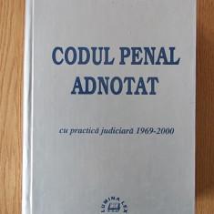 CODUL PENAL ADNOTAT cu practica judiciara- CONSTANTIN SIMA/ cartonata