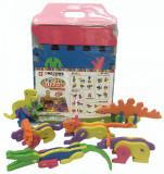 Covor puzzle din spuma- animale