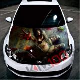 """Sticker Imprimat Color pentru Capota """"Hood Art"""" cod: KM-HOOD-213"""
