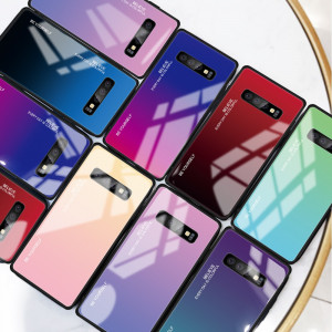 Husa Gradient de LUX din sticla pt Samsung Galaxy S10 / S10e / S10+ / S10 plus