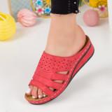 Papuci dama rosii MDL00604