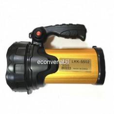 Lanterna LED Profesionala 15W cu Acumulator LKK5502