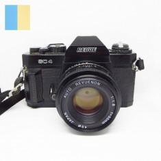 Revue SC 4 cu obiectiv Revuenon 50mm f/1.8 montura Pentax K-mount