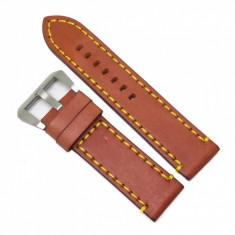 Curea pentru Ceas Robusta - Maro - 24mm -WZ3646