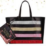 Victoria's Secret geanta si portfard de plaja sau de zi
