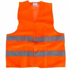 Vesta reflectorizanta RoGroup, portocalie, universala