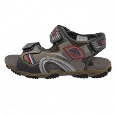 Sandale copii, din piele naturala, sOliver, 5-38100-26-14, gri