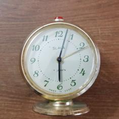 ceas de masă rusesc, slava cu 11 rubine, in stare perfectă de functionare.